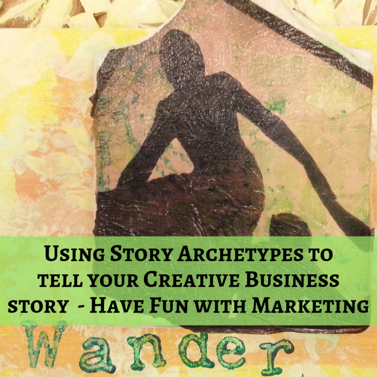 We will use story archetypes in combination with our One Page Marketing Plan for Creative Businesses to Bring Your Business Success to life.