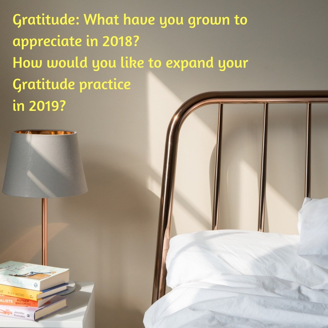 #BridgetotheNewYear Day 4 Prompt: Appreciation and Gratitude
