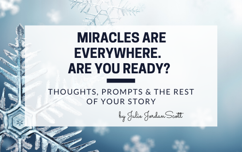 Miracles in every snowflake and every blog post.