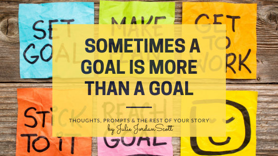 Sometimes a goal is much more than a bunch of colorful sticky notes on a bulletin board. It goes beyond setting goals, making plans, get to work, stick to it, and reach goal. Find out more why.