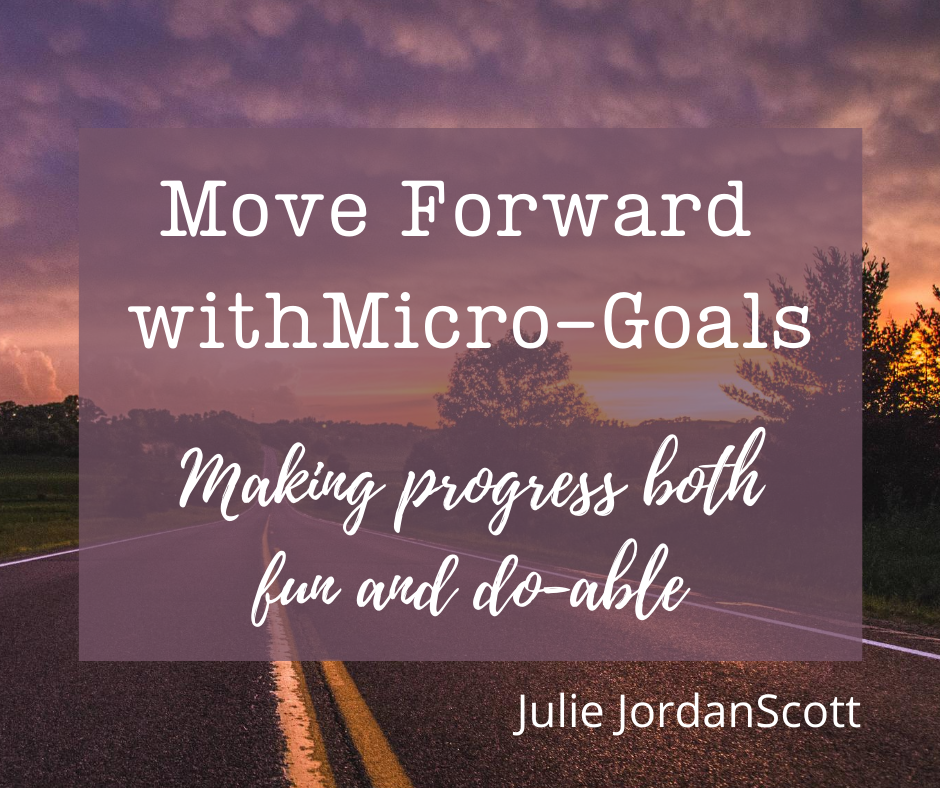 Micro-goals will help you be more successful. This blog post shows you how.